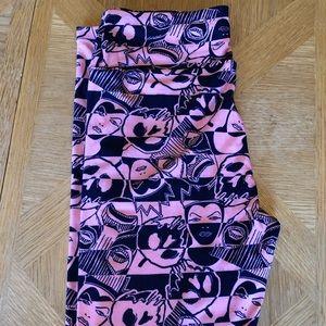 LulaRoe Disney print size Os leggings NWOT!